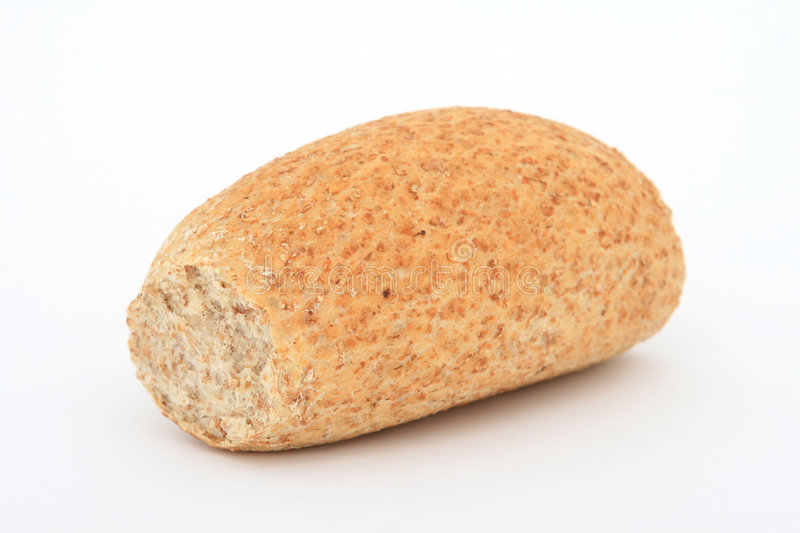 Healthy bread roll stock photography