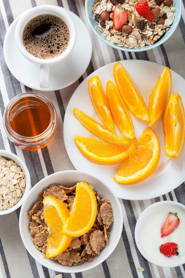 Download Healthy breakfast stock photo. Image of organic, oatmeal - 26539300