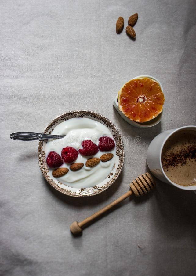 Breakfast morning stock photo