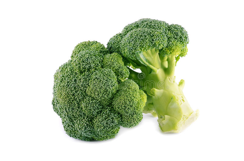 Healthy brocoli. Isolated on a white background