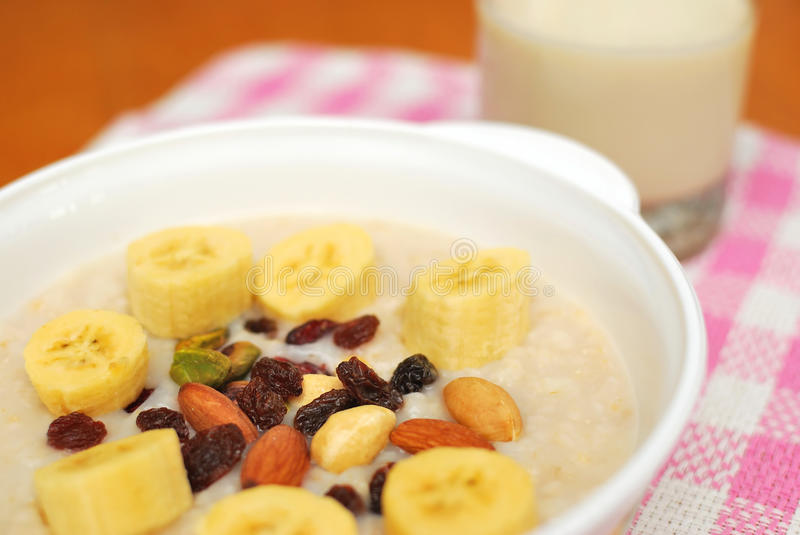 Download Healthy Cereal And Soya Bean Milk Stock Image - Image: 11992787