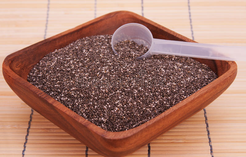 Download Healthy Chia Seeds stock photo. Image of healthful, edible - 22983400