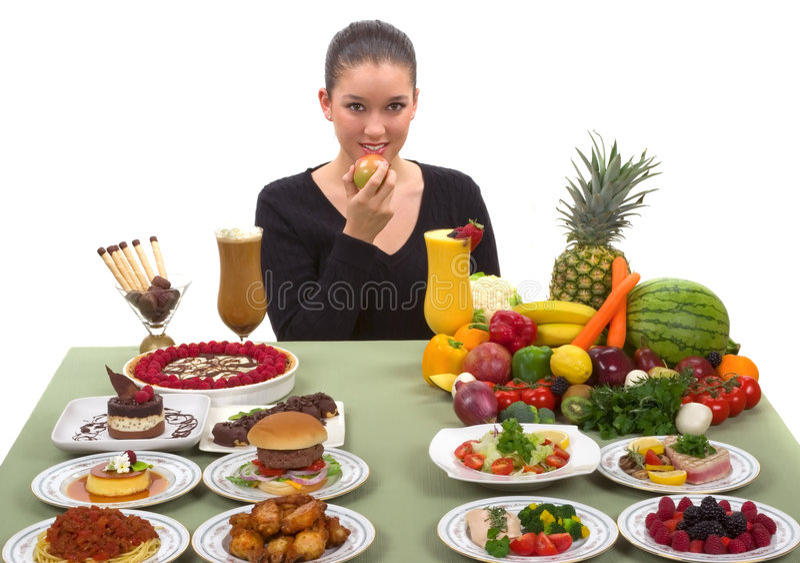 Download Healthy Choice stock image. Image of diet, fish, hamburger - 4381033