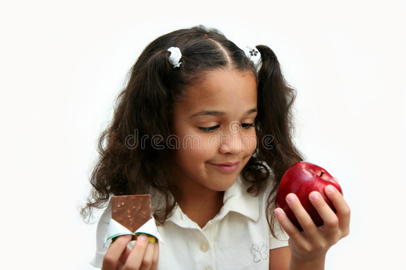 Download Healthy Choices stock photo. Image of child, interracial - 4951366