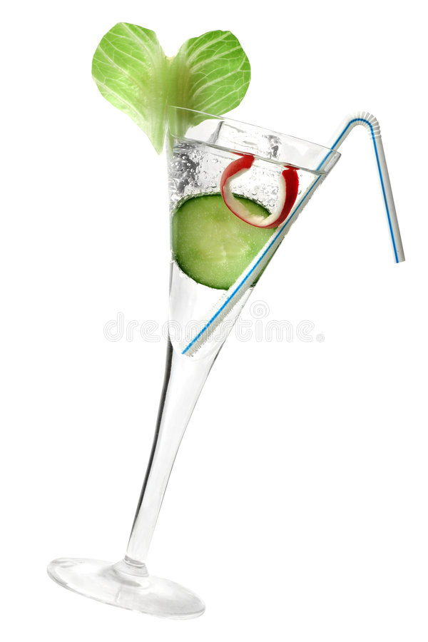 Healthy Cocktail stock photo