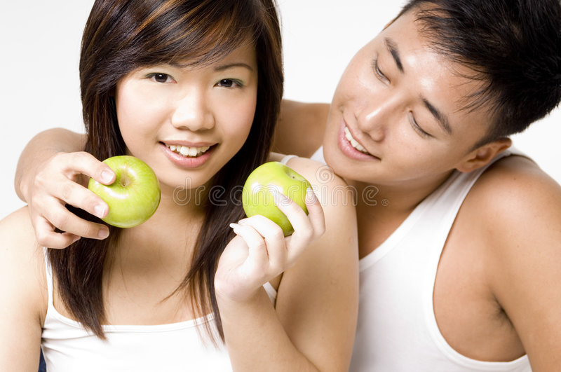 Healthy Couple 4 stock photo