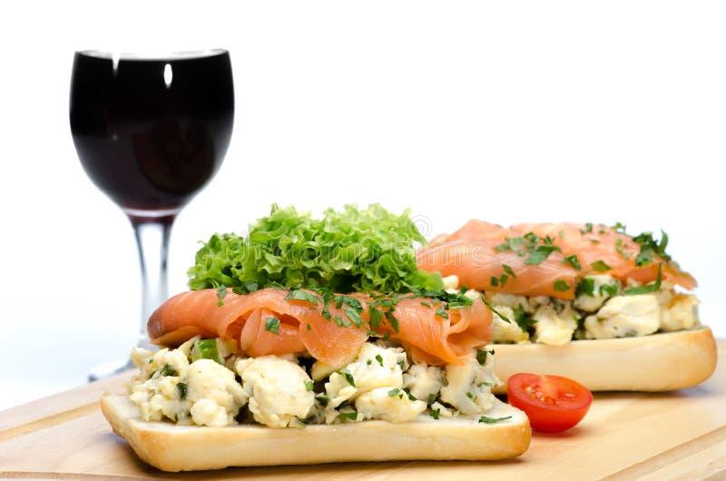 Healthy dinner royalty free stock photos