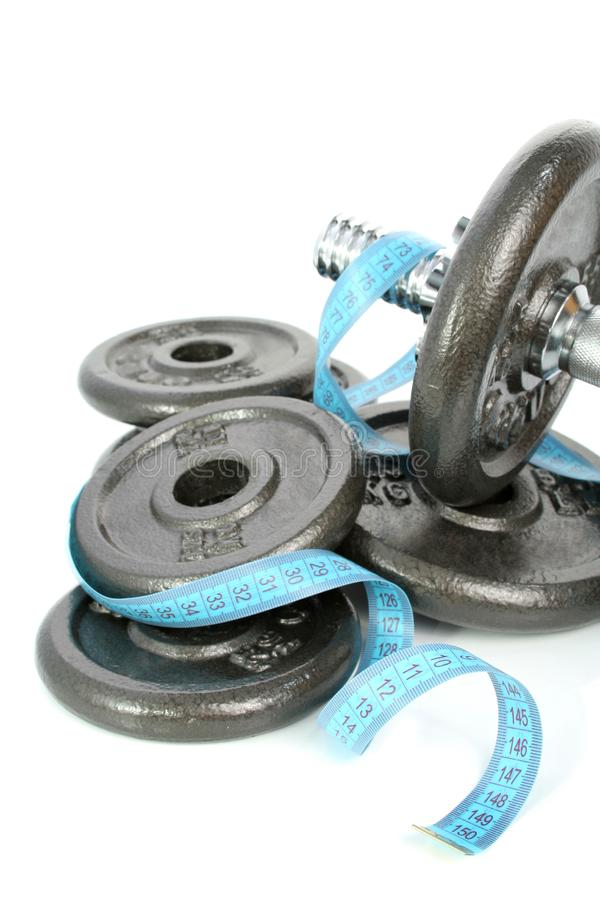 Healthy Dumbbells Isolated Free Stock Photos