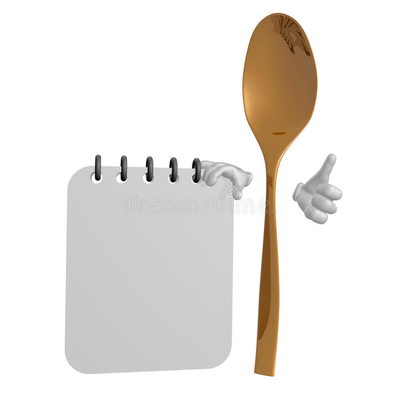Healthy Eat Schedule Icon Royalty Free Stock Photos