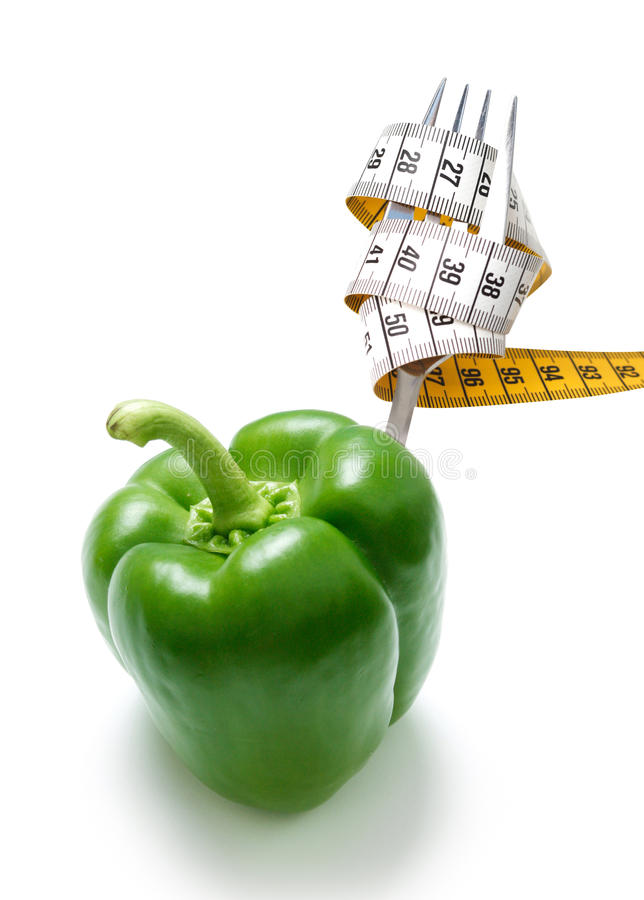 Healthy eating. Shown in a conceptual way royalty free stock photography