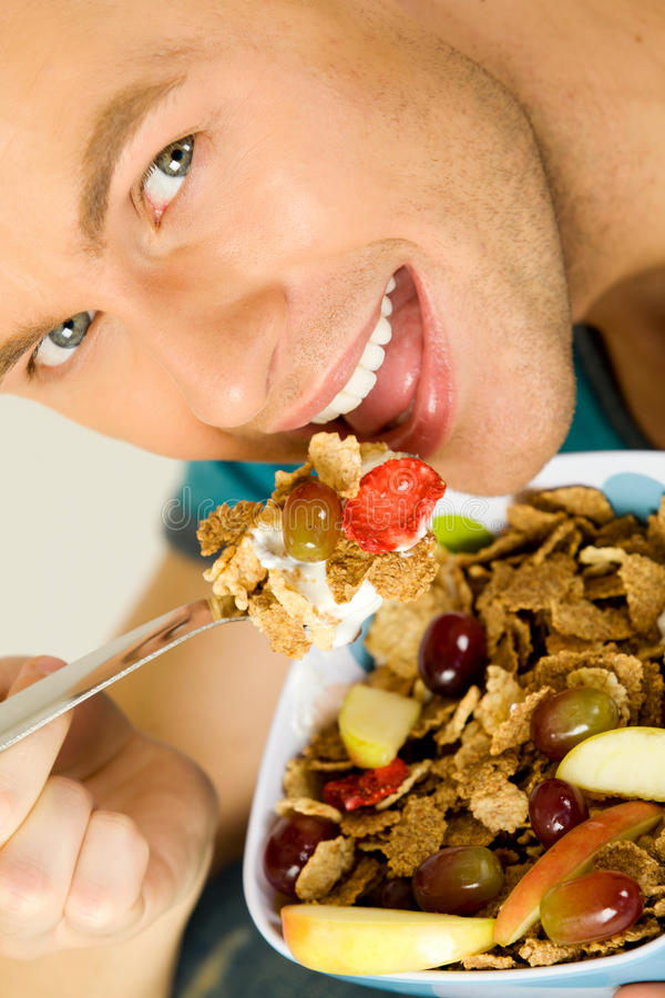 Download Healthy eating stock photo. Image of holding, morning - 25508546