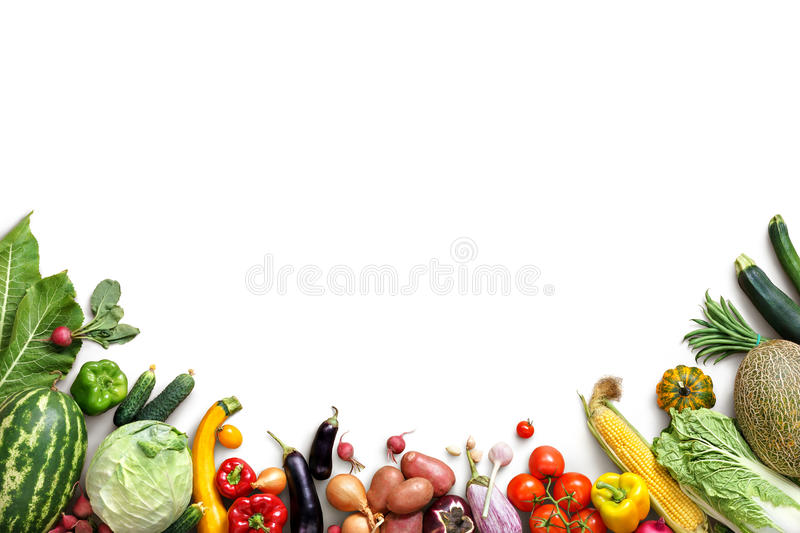 Healthy eating background. Food photography different fruits and vegetables royalty free stock photos