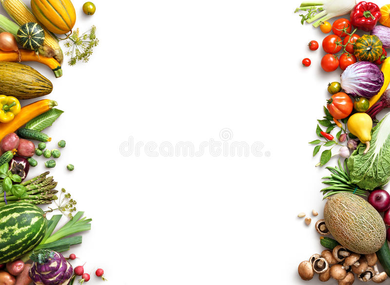 Download Healthy Eating Background. Food Photography Different Fruits And Vegetables Stock Photo - Image of food, grocery: 68279520
