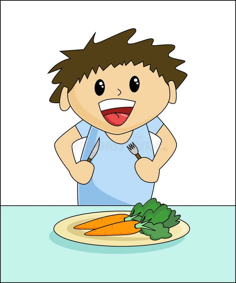 Download Healthy Eating - Boy stock vector. Image of health, cheerful - 1144849