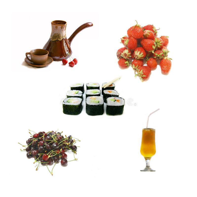 Healthy eating collection stock photography