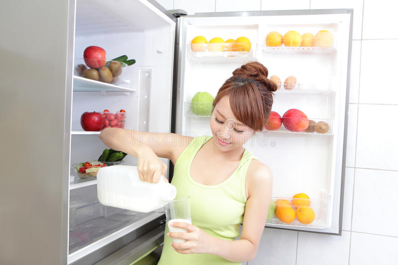 Download Healthy Eating Concept stock image. Image of glass, attractive - 34291869