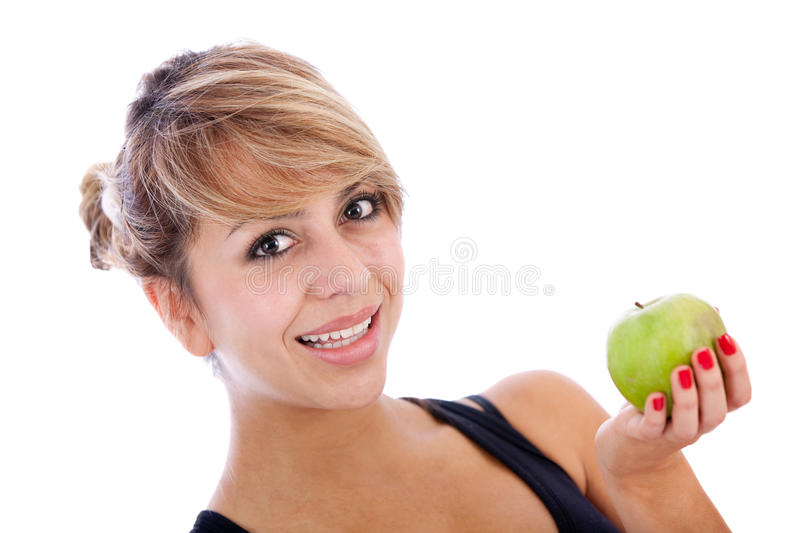 Download Healthy eating woman stock image. Image of people, adult - 18519801