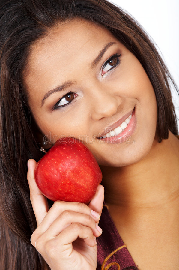 Download Healthy eating woman stock image. Image of eating, girl - 4867759