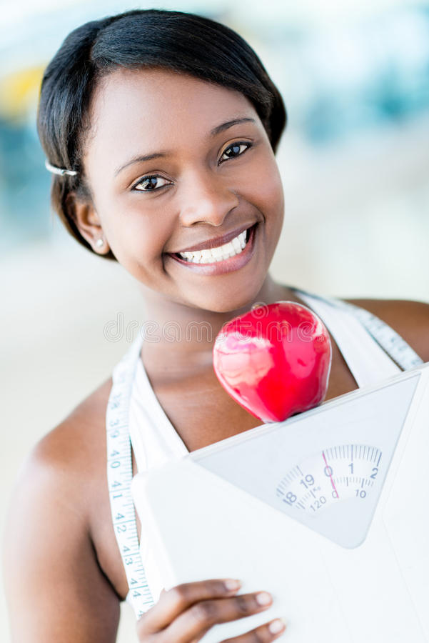 Download Healthy eating woman stock photo. Image of body, apple - 31693926