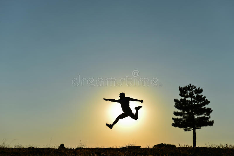 Healthy, energetic and dynamic life royalty free stock image