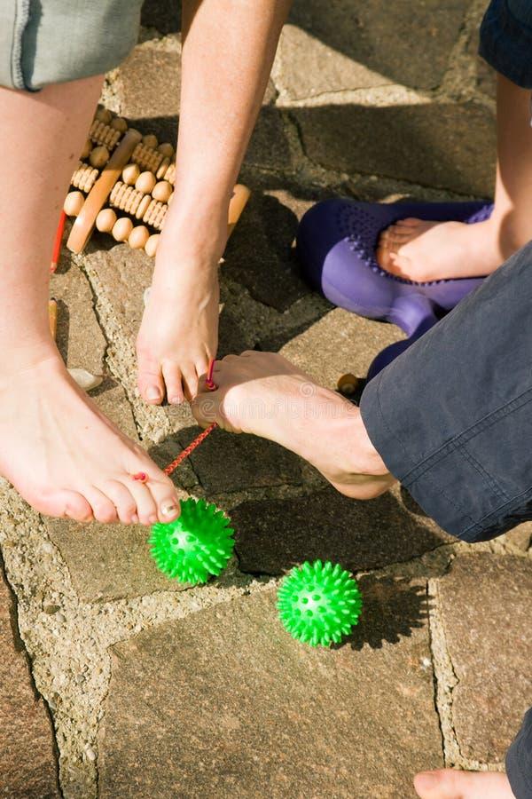 Download Healthy Feet: Feet Gymnastics Stock Image - Image: 12330215