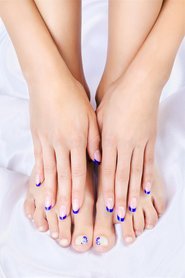 Healthy Feet And Hands Royalty Free Stock Image - Image ...