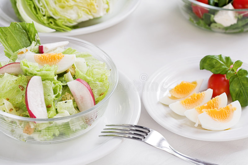 Download Healthy food stock photo. Image of salad, lunch, cheese - 1713748