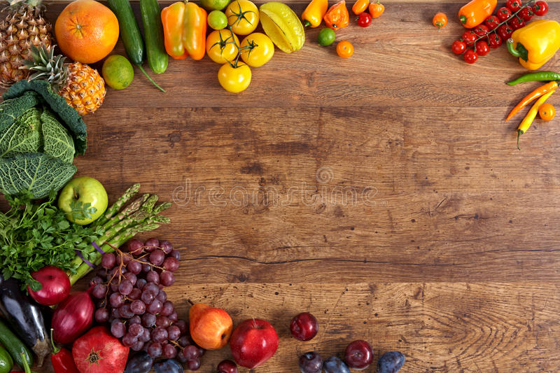 Healthy food background stock photo. Image of food, fruit ...