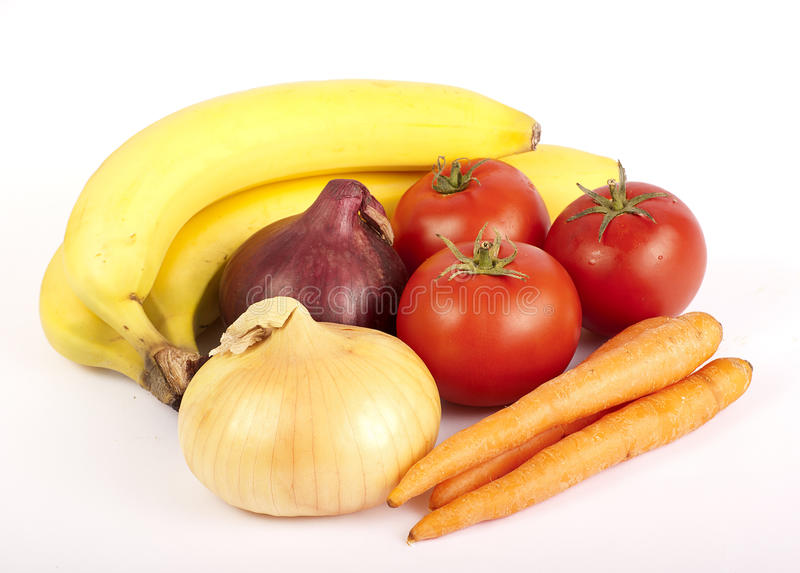 Healthy food, fruit and vegetables stock photos