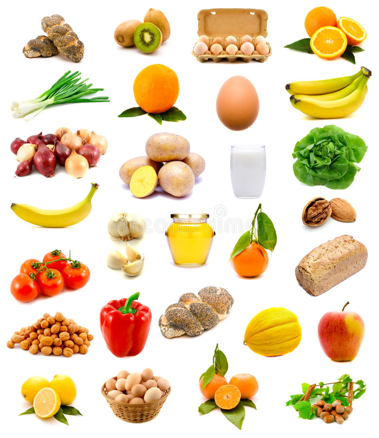 Free Healthy Food, Fruits And Vegetables Royalty Free Stock Images - 17926029