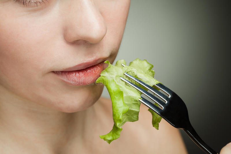 Healthy food for girl royalty free stock photos
