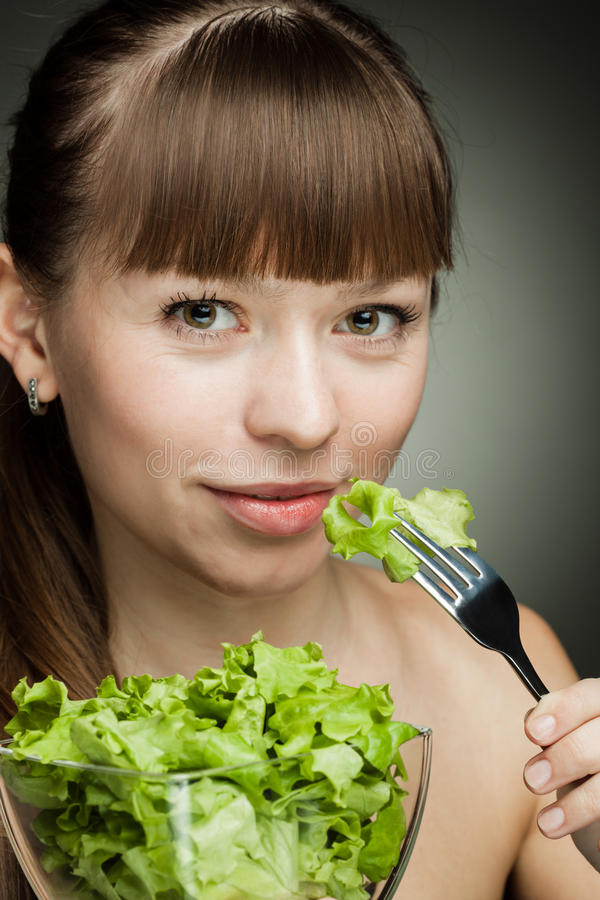 Healthy food for girl royalty free stock photography