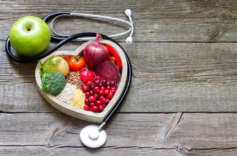 Download Healthy Food In Heart And Cholesterol Diet Concept Stock Image - Image of idea, cholesterol: 61841227