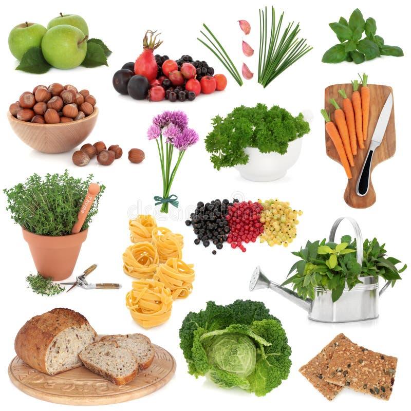 Healthy Food Sampler stock photography