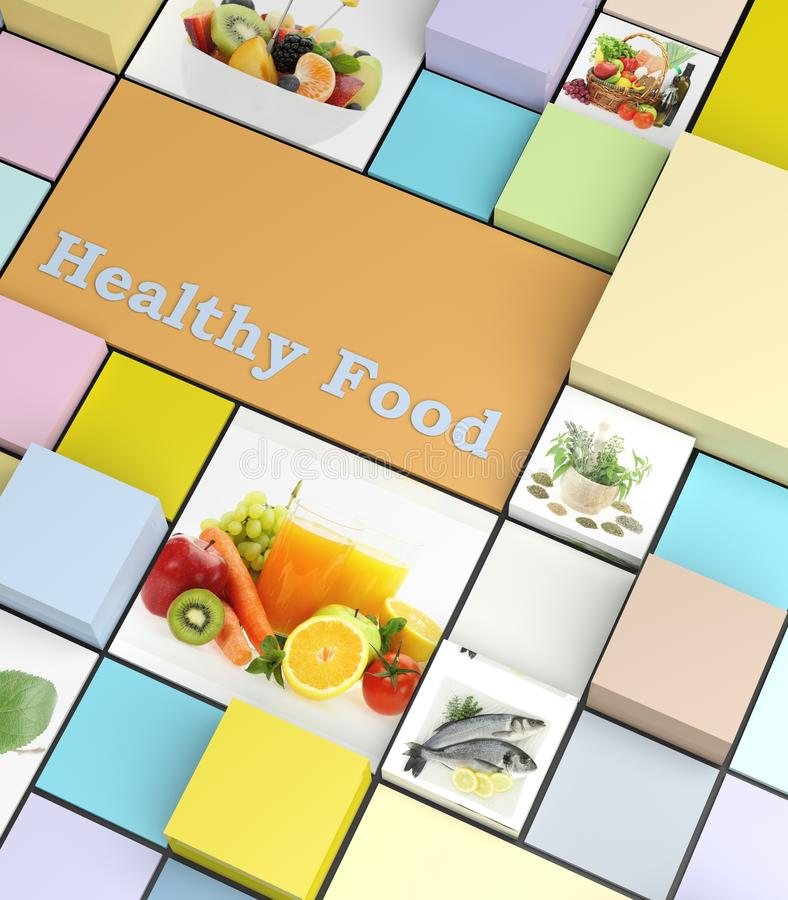 Healthy foods royalty free stock image