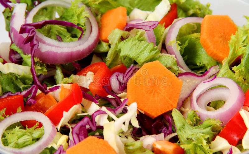 Download Healthy Fresh Salad stock photo. Image of greek, background - 20295004