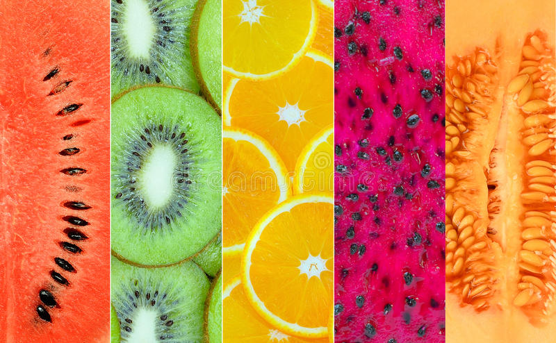Healthy fruit background stock photography