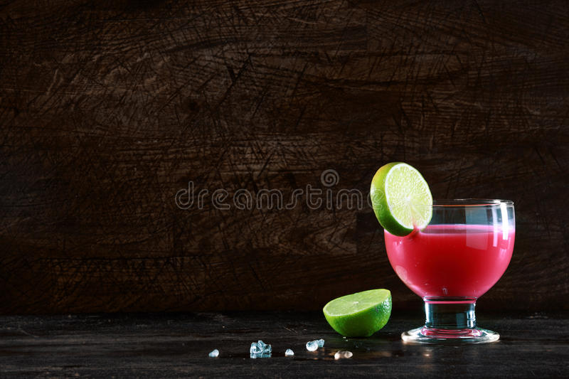Healthy fruit cocktail stock image
