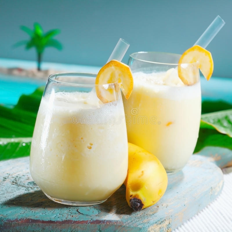 Download Healthy Fruity Banana Smoothie Stock Photography - Image: 24561762