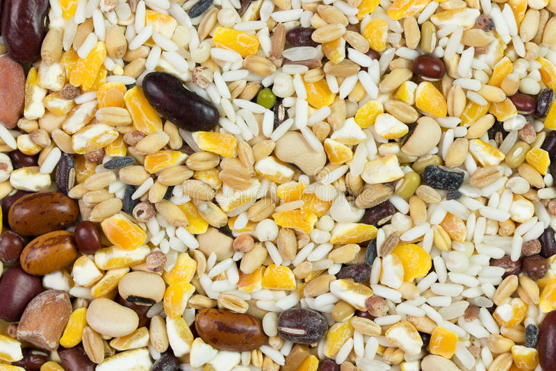 Healthy grains stock images
