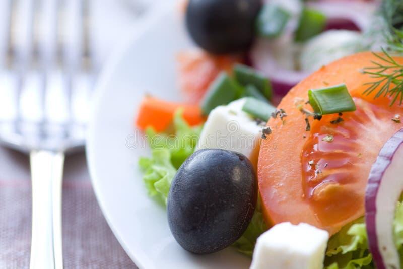 Download Healthy greek salad stock image. Image of closeup, fresh - 18507685