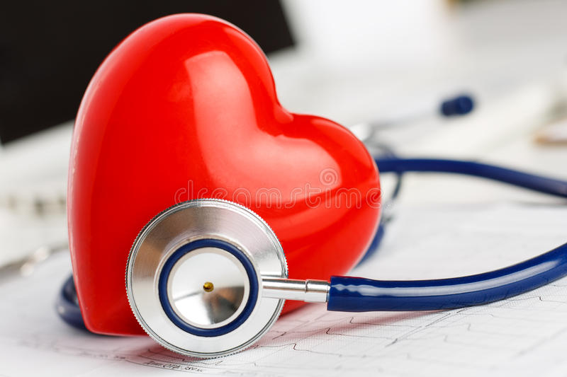 Healthy heart concept stock image