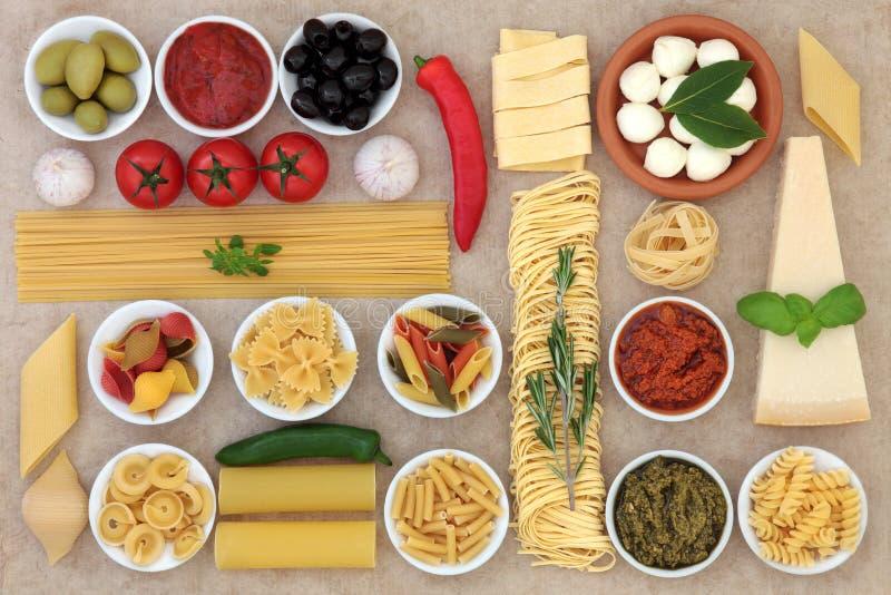 Healthy Italian Food stock image