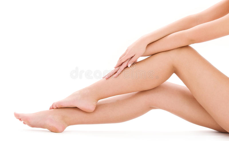 Healthy legs stock images