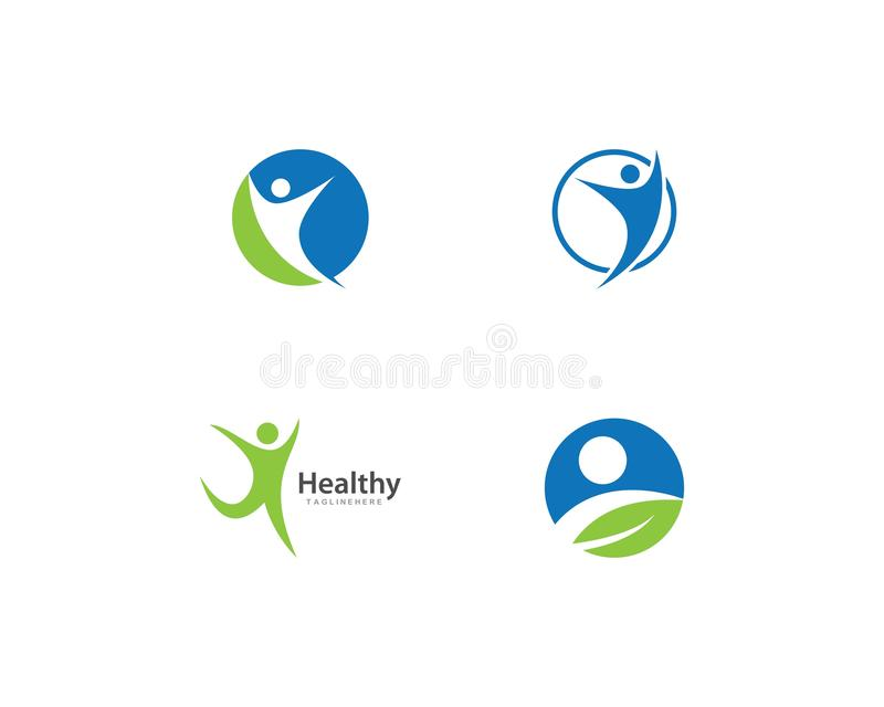 Healthy Life Logo template. Vector stock photo