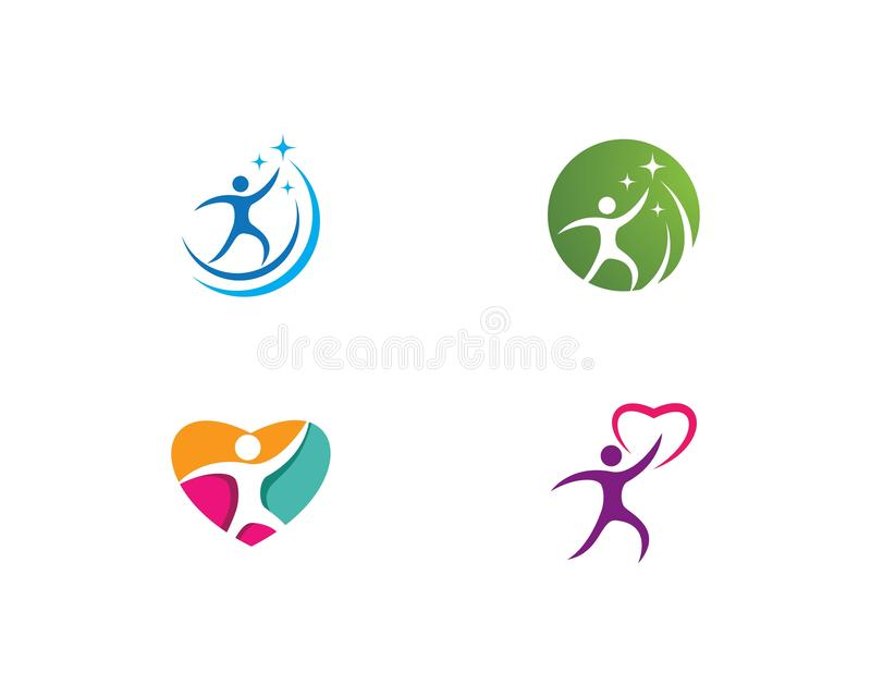 Healthy Life Logo vector illustration