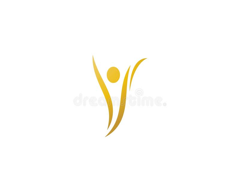 Healthy Life Logo template vector illustration