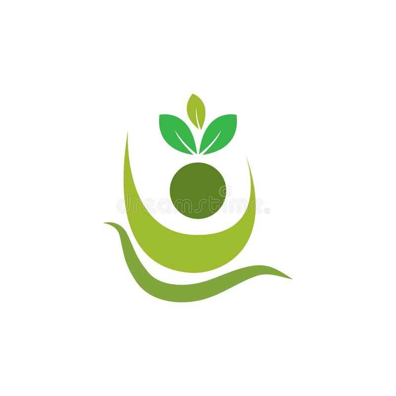 Healthy Life people. Healthy Life people Logo template vector, bio, body, branding, business, care, character, company, concept, corporate, creative, design royalty free illustration