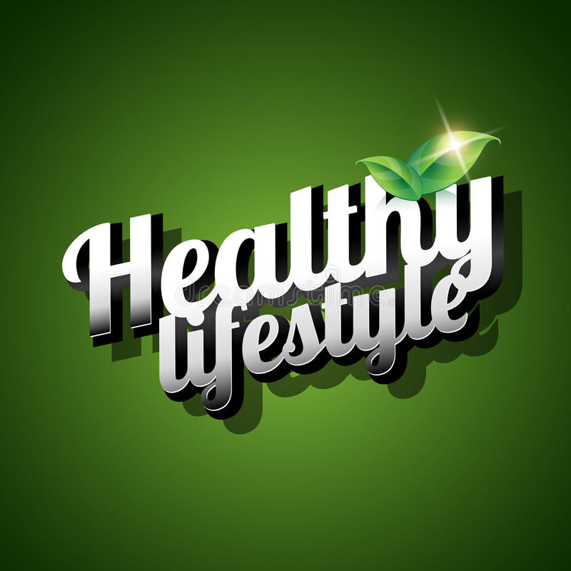 Download Healthy lifestyle stock vector. Illustration of program - 28669350