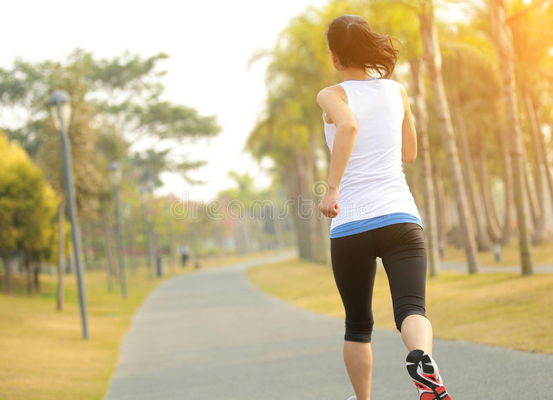 Download Healthy Lifestyle Beautiful Asian Woman Running Stock Photo - Image: 36870980